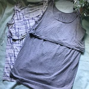 Lot of 2 Nursing Tanks